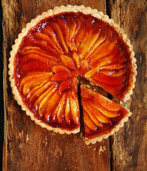 Карамельно-грушевий пиріг