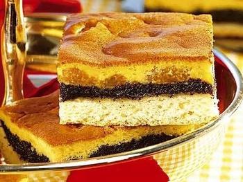 Фруктовий маковий пиріг