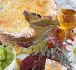 Виноградний пиріг-суфле