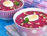 Холодний буряковий суп (свекольник)