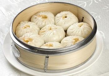 Китайские паровые пирожки баоцзы