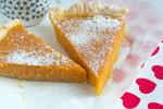 Тыквенный пирог с тестом из печенья