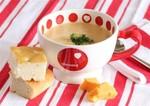 Сирний суп з кольоровою капустою