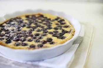 Пісочний пиріг з чорницями