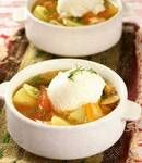 Великодній яєчний суп