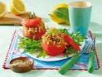 Фаршированные сардинами помидоры