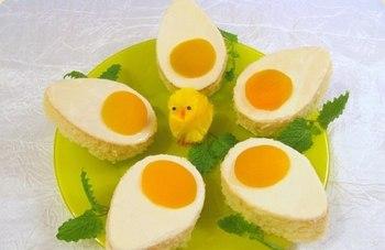 Тістечко «Великоднє яйце»