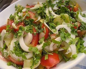 Салат-гарнір до шашлику