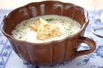 Картофельный крем-суп с тофу