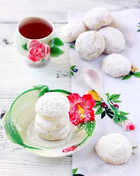 Сніжне пісочне печиво