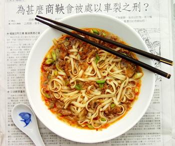 Домашняя лапша по-китайски