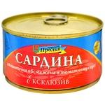 Сардина Морской Пролив Эксклюзив обжаренная в томатном соусе 240г