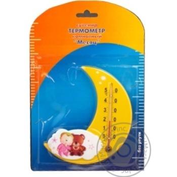 Термометр Віктер Кімнатний Місяць П-17 - купити, ціни на УльтраМаркет - фото 2