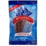 Snack Morskie salmon salted dried 36g Ukraine