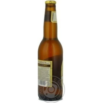 Pasteurized unfiltered lager Vilniaus Alus glass bottle 5.2%alc 330ml Lithuania - buy, prices for Novus - image 2
