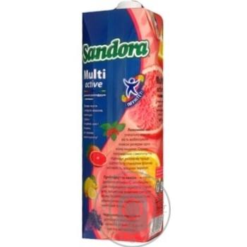 Нектар Sandora Мультиактив Грейпфрут рожевий,лимонник 1л