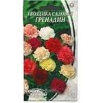Насіння Квіти Гвоздика сад.Гренадін суміш Семена Украины 2г