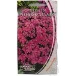 Насіння Квіти Агератум Рожеве полум'я Семена Украины 2г