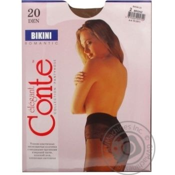 Tights Conte bronze polyamide for women 20den 2size - buy, prices for Novus - image 7