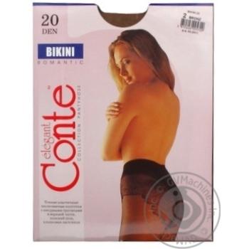 Колготы Conte Bikini 20 Den р.2 bronz шт - купить, цены на Novus - фото 6