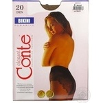 Tights Conte bronze polyamide for women 20den 4size - buy, prices for Novus - image 4