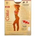 Tights Conte Active natural polyamide for women 40den 4size - buy, prices for Novus - image 8