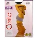 Conte Active 20 den Women's Nero Tights Size 4 - buy, prices for CityMarket - photo 4