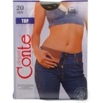 Tights Conte sheid polyamide for women 20den 2size