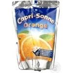 Напій Капрізон апельсин соковий 200мл Україна