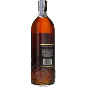 Виски King Robert II 40% 700мл - купить, цены на Фуршет - фото 2
