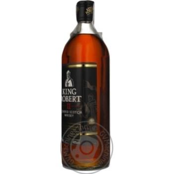 Виски King Robert II 40% 700мл - купить, цены на Фуршет - фото 4