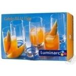 Набор стаканов Luminarc высоких 6шт 330мл