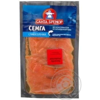 Fish Santa bremor salmon light-salted 100g Belarus - buy, prices for Novus - image 2