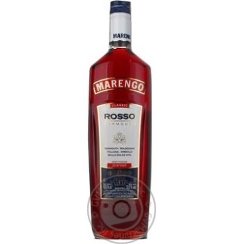 Marengo Rosso dessert pink sweet vermouth 16% 1l - buy, prices for Furshet - image 3