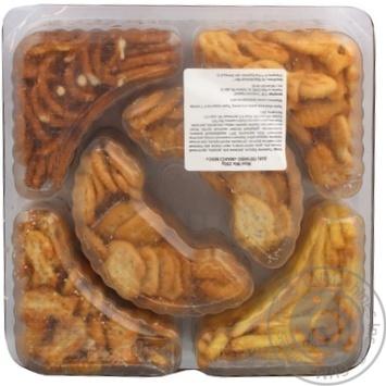 Набор соленого печенья Chio Maxi Mix 250г - купить, цены на Novus - фото 2