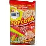 Snack Mc corn Fitness for a microwave stove 75g Denmark