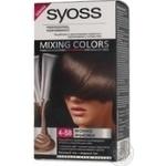 Фарба для волосся Syoss Mixing Colors 4-58 Мокко Ф'южн
