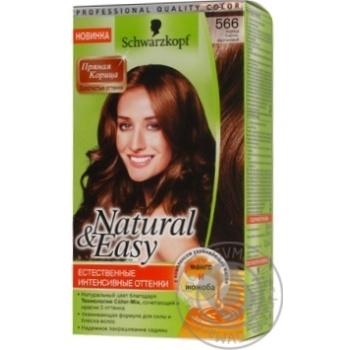 Крем-фарба Natural&Easy Кориця Світло-каштановий 566