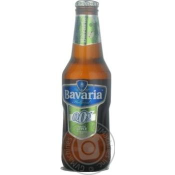 Пиво Bavaria Apple безалкогольне 0.25л