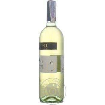 Вино Donini Chardonnay Delle Venezie IGT біле сухе 12,5% 0,75л - купити, ціни на УльтраМаркет - фото 3