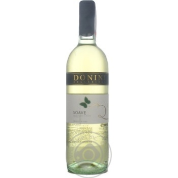 Donini Soave Dry White Wine 11,5% 0,75l - buy, prices for Furshet - image 3