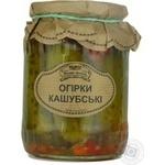 Vegetables cucumber Wiejskie specjaly canned 720g glass jar Poland