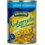 Vegetables corn Kwidzyn canned 400g can Poland