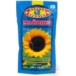 Mayonnaise Chyguev-product Provansal 45% 180g doypack Ukraine