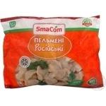 Meat dumplings Smacom Russian with beef 600g Ukraine