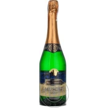 Игристое шампанское Рэд энд вайт 12.5% 750мл стеклянная бутылка