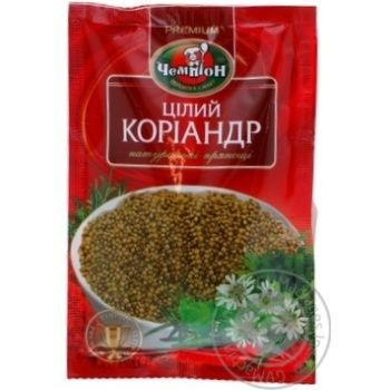 Spices coriander Champion whole 20g Ukraine