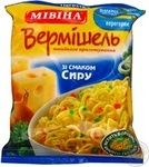 Макарони вермішель Мівіна зі смаком сиру 60г Україна