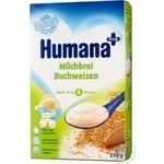Dry milk porridge Humana buckwheat for 6+ month old babies 250g Germany