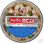 Fish herring Ribolov pickled 200g Ukraine